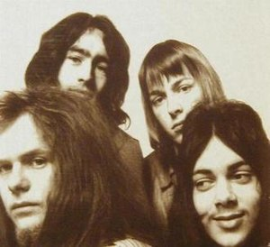 Free (band) - Clockwise, from top left: Paul Rodgers, Simon Kirke, Andy Fraser, Paul Kossoff