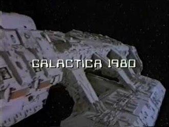 Galactica 1980 - Galactica 1980 intro