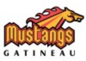 Gatineau Flames - Former Gatineau Mustangs logo.