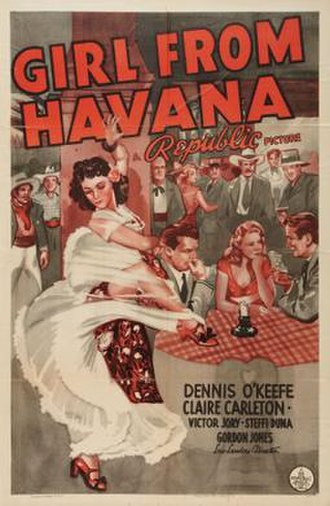 Girl from Havana - Theatrical release poster