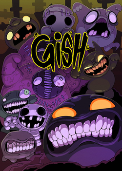 PC cover art for Gish