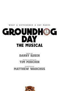<i>Groundhog Day</i> (musical)