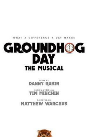 Groundhog Day (musical) - Original Broadway production artwork