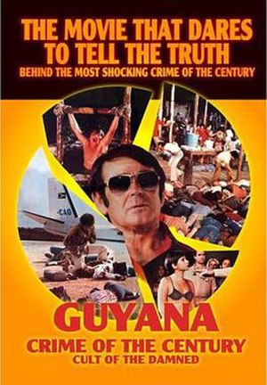 Guyana: Crime of the Century - The current DVD cover features the two alternate English titles of the film