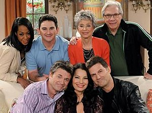 Happily Divorced - Happily Divorced cast during the first season.