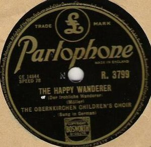 The Happy Wanderer - The original recording by the Obernkirchen Children's Choir