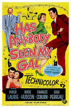 Has Anybody Seen My Gal? (film) - Film poster by Reynold Brown