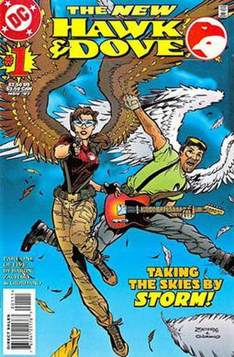 Hawk and Dove - Hawk and Dove: Sasha and Wiley.