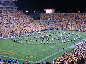 Hawkeye Marching Band - The HMB performs at halftime.