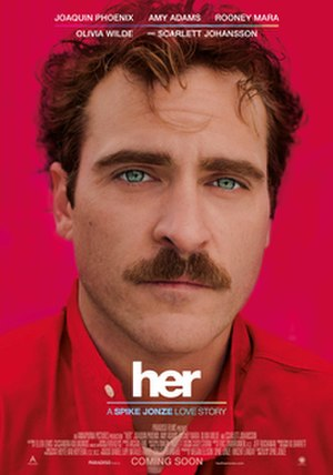 Her (film) - Theatrical release poster