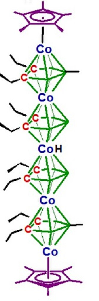 Sandwich compound - A structurally characterized cobaltacarborane hexadecker (see ref. 16)