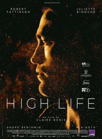 High Life (2018 film) - Theatrical release poster