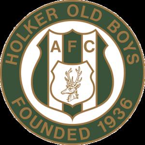 Holker Old Boys A.F.C. - Image: Holker Old Boys FC logo