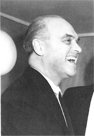 Hugo Rignold - Hugo Rignold at the Liverpool Philharmonic Hall