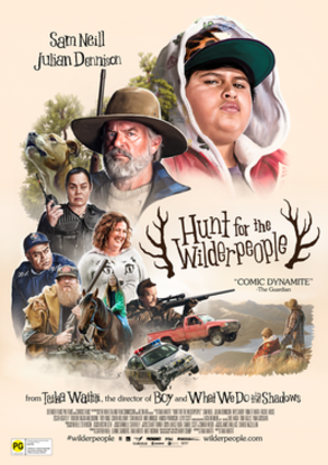 Hunt for the Wilderpeople - NZ theatrical release poster
