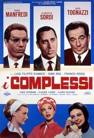 I complessi - Italian Film Poster