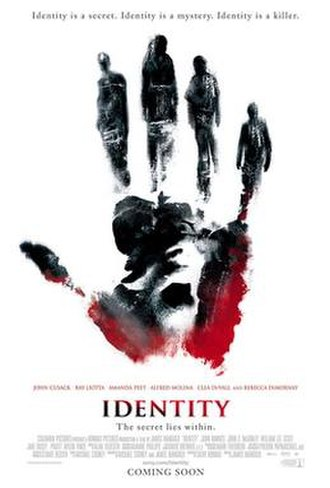 Identity (film) - Theatrical release poster