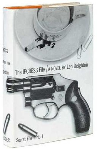 The IPCRESS File - First edition (publ. Hodder & Stoughton)