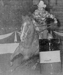 Isabella Miller (barrel racer) Canadian barrel racer