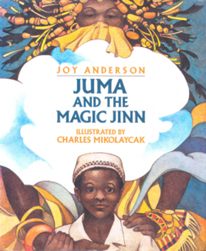 Juma and the Magic Jinn - Front cover illustration