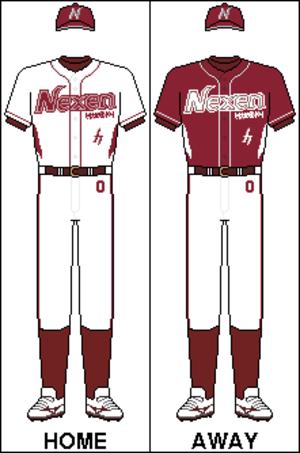 Nexen Heroes - Image: KBO Uniform Nexen