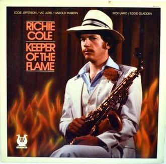 Keeper of the Flame (Richie Cole album) - Image: Keeper of the Flame (Richie Cole album)