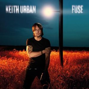 Fuse (Keith Urban album) - Image: Keith Urban Fuse album cover