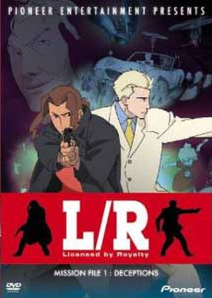 L/R: Licensed by Royalty - DVD cover of L/R: Licensed by Royalty in North America, Volume 1