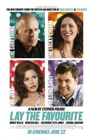 Lay the Favorite - Theatrical release poster