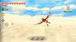 The Legend of Zelda: Skyward Sword - Image: Lo Z Skyward Sword gameplay
