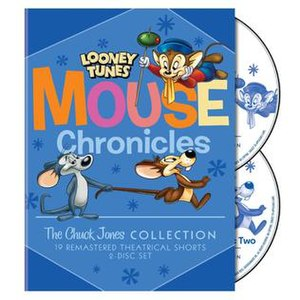 Looney Tunes Mouse Chronicles: The Chuck Jones Collection - DVD cover