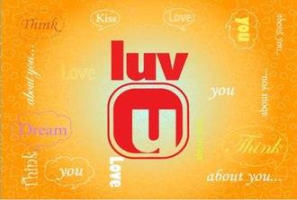 Luv U - Second season logo