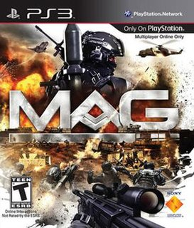 <i>MAG</i> (video game) 2010 massively multiplayer online first-person shooter video game