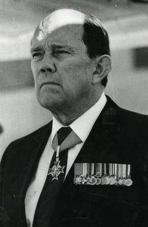 Magnus Malan - Magnus Malan circa 1990.