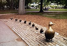 Image result for make way for ducklings