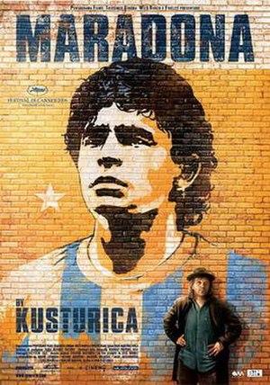 Maradona by Kusturica - Maradona theatrical release poster