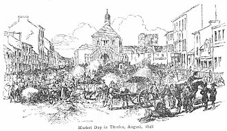Thurles - Market day (August 1848)