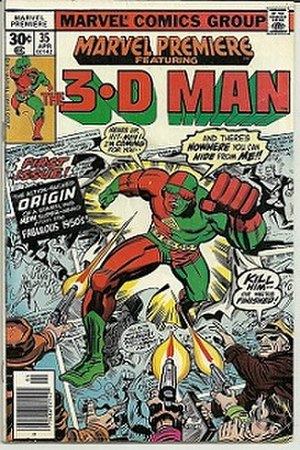 3-D Man - Image: Marvel Premiere 35 cover