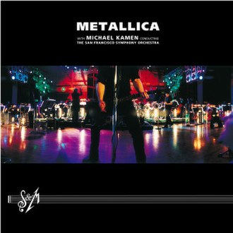 S&M (album) - Image: Metallica S&M cover