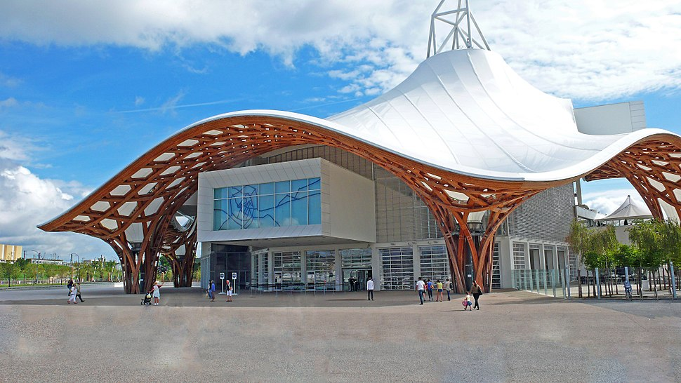 Metz (F) - Centre Pompidou - Außenansicht