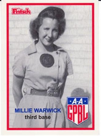 Mildred Warwick - Image: Mildred Warwick
