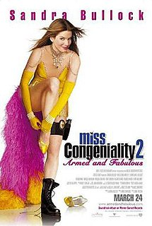 <i>Miss Congeniality 2: Armed and Fabulous</i> 2005 comedy film directed by John Pasquin