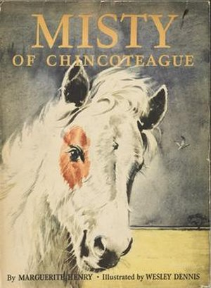 Misty of Chincoteague - First edition