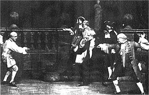 Monsieur Beaucaire (opera) - Act II sword fight