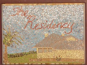 The Residency, Alice Springs - Image: Mosaic of the Residency