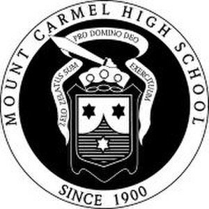Mount Carmel High School (Chicago) - Image: Mount Carmel High School (Chicago) logo