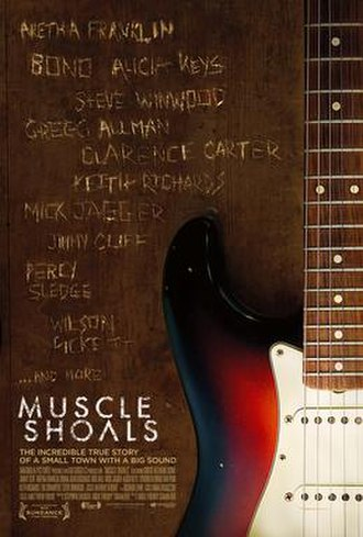 Muscle Shoals (film) - Muscle Shoals Theatrical Poster