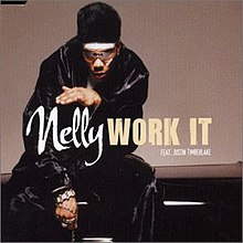 Nelly featuring Justin Timberlake - Work It CD cover.jpg