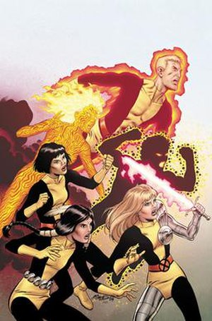 New Mutants - Image: New Mutants (vol.3) 1 cover