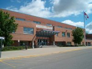 York Region District School Board - Image: Newmarkethigh